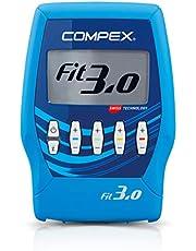 Compex Fit 3.0 Electroestimulador, Unisex, Azul