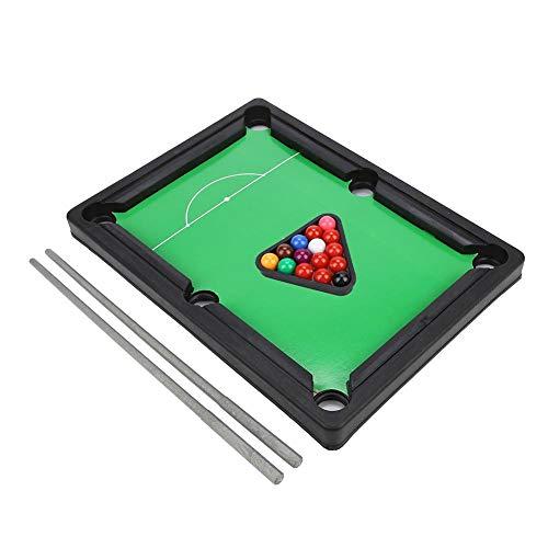 VGEBY Mini Billardtische Spielzeug, Tragbare Amerikanische Billardtisch Spiel Desktop Spielzeug für Home Party Familie Freunde Spiel