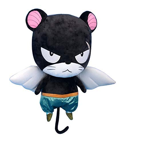 Xin Yao Store Peluche 50Cm Fairy Tail Panther Lily Anime Peluches Y Peluches para Bebés Niñas Amantes Niños Mejor Cumpleaños