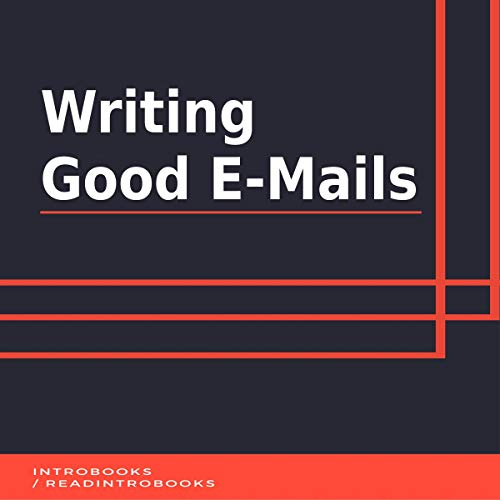 Couverture de Writing Good Emails