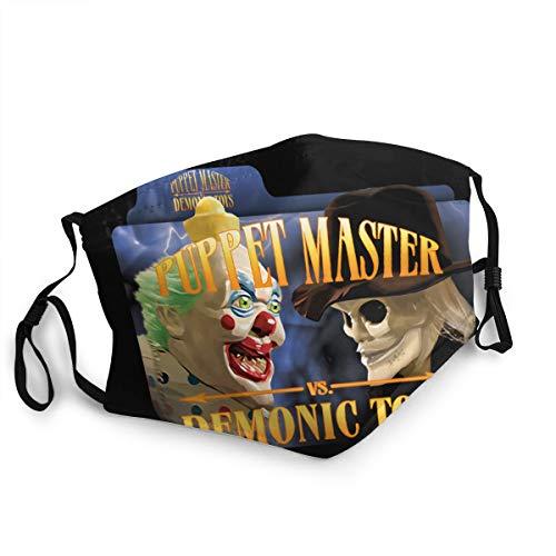 Puppet Master vs Demonic Toys (2004) Adult Wind Dust Masks Reusable & Washable Face Mask 1 PCS Black