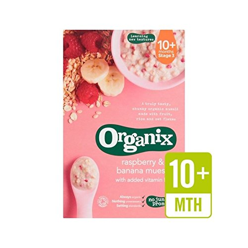 Organix Cereal Banana Superior Raspberry Stage Pack 3 - Challenge the lowest price of 200g