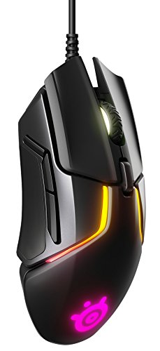 SteelSeries Rival 600 – Gaming-Maus – 12.000 CPI TrueMove3+ Dual Optical Sensor – 0,05 Lift-off-Distanz – Gewichtssystem – RGB-Beleuchtung - 2
