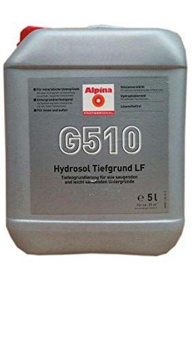 Alpina G510 Hydrosol Tiefgrund LF Sioxanverstärk lösemittelfrei innen und außen 10 Liter