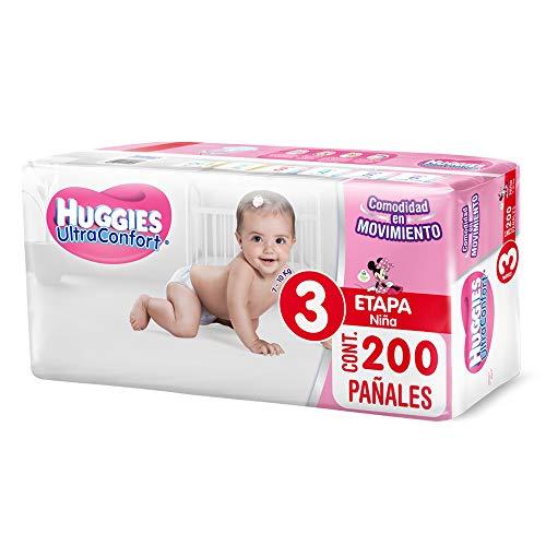 pañales huggies confort etapa 3 fabricante HUGGIES
