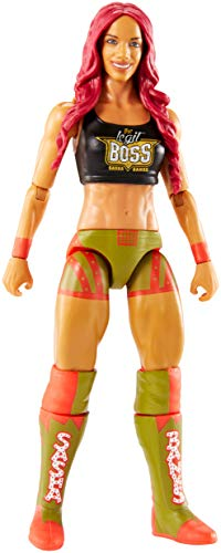 Wwe Figurine Articulée de Catch Jouet... Sasha Banks 17Cm en Tenue Combat
