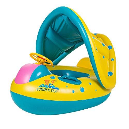 llv Baby Schwimmer Kinderfoot Mit Dach Ungd Griffen Schwimmhilfe Kinderfoot Strand Sommer Hinterfuß Fp252;R Baby, Kleinkinder