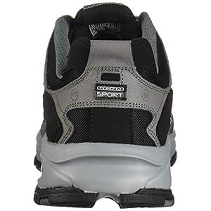Skechers Sport Men's Vigor 2.0 Trait Memory Foam Sneaker, Charcoal/Black, 13 XW US