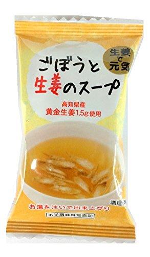 イー・有機生活 生姜とごぼうのスープ 9g×10袋
