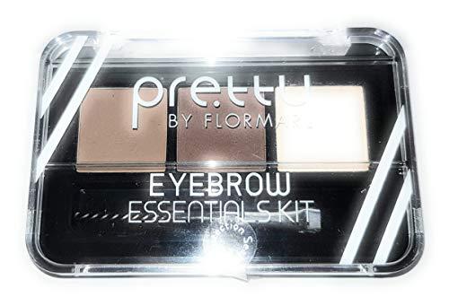 Pretty by Flormar - Kit Eyebrow Essentials para Cejas