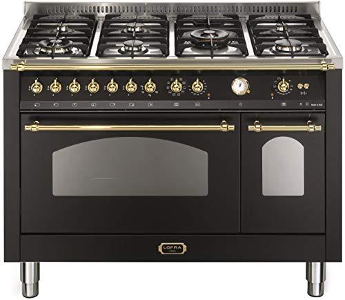 Lofra RNMD126MFT+E/2AEO Cucina freestanding Nero Gas A