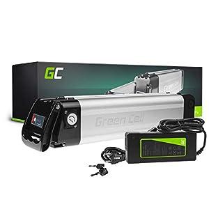 Green Cell PRO GC® E-Bike Akku 24V 10.4Ah Li-Ion Pedelec Silverfish Batterie mit Ladegerät für Cyco Frisbee Bikes Kreidler MiFa Prophete Rex Trio Zündapp