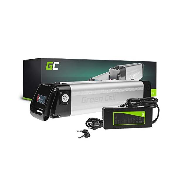 41Z7DNvzrHL. SS600  - Green Cell PRO GC® E-Bike Akku 24V 10.4Ah Li-Ion Pedelec Silverfish Batterie mit Ladegerät für Cyco Frisbee Bikes Kreidler MiFa Prophete Rex Trio Zündapp