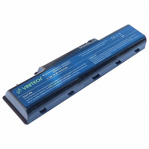 Vinitech Akku mit 10,8V 4400mAh für Acer eMachines D520, D525, D725 E430, E525, E625, E627, E630, E725