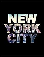 【FOX REPUBLIC】【ニューヨーク 風景】 黒マット紙(フレーム無し)A2サイズ