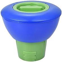 Liummrcy Dispensador de Cloro Flotante, tabletas de Cloro Dispensador de Piscina Ajustable Floater de Productos químicos para Interiores y al Aire Libre Piscinas Jacuzzi Spas-Automático Dosificación