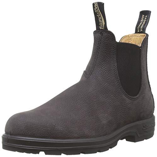 Blundstone Unisex 1464 Grey Nubuck Boots - 11.5 W / 9.5 M US
