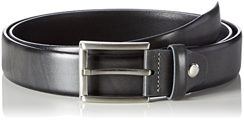 MLT Belts & Accessoires Herren Business-Gürtel London, Grau (grey 9200) , 95 cm