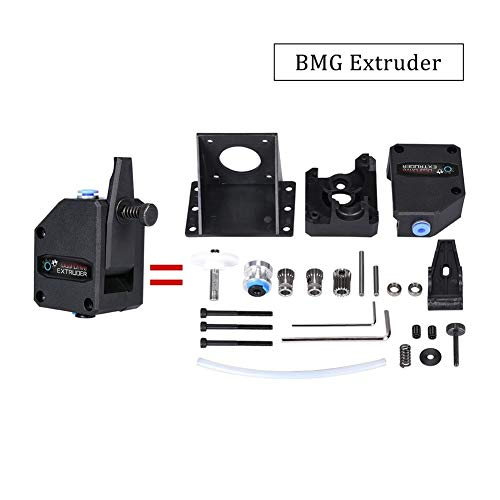 MZHE 3D Printer Parts BMG Extruder Clone Dual Drive Extruder Upgrade Bowden Extruder 1.75mm Filament For 3d Printer CR10 Suitable for most printers, making your printer q ( Size : Only Extruder )