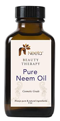 Neeta Naturals Beauty Therapy Pure Neem Oil Cosmetic Grade 3 oz