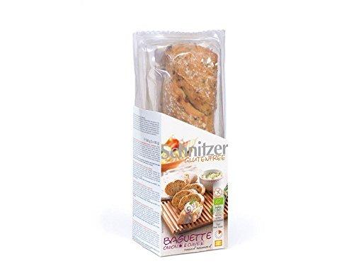 Schnitzer Baguette Zwiebel und Schnittlauch glutenfrei bio 320g