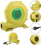 YLOVOW La Bomba del Ventilador del Ventilador 0.6HP De Casa De La Despedida Inflable Castillo Hinchable 450 Vatios