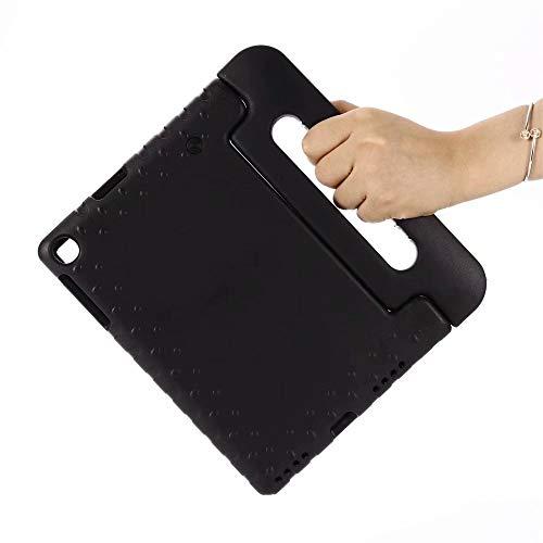 QiuKui Tab Funda para la lengüeta Un 10.1 2019 SM-T510 T515, a Prueba de Golpes niños Cubierta del Cuerpo Completo manija del Soporte Case Seguridad de los niños para Samsung Galaxy Tab 10.1 Una
