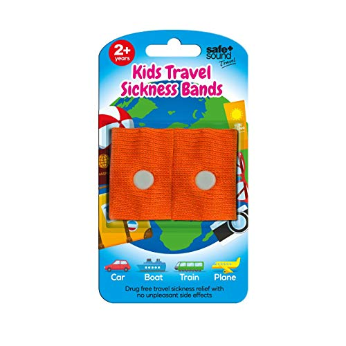 Safe and Sound Travel Sickness Bands for Ages 2+. Colour Received Will...