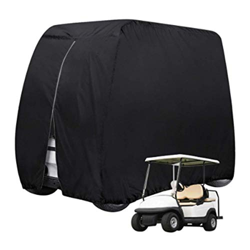 Funda para carrito de golf, cubierta para carrito de golf, tela Oxford 210D, impermeable y resistente al polvo, apta para varios modelos de carrito de golf, M