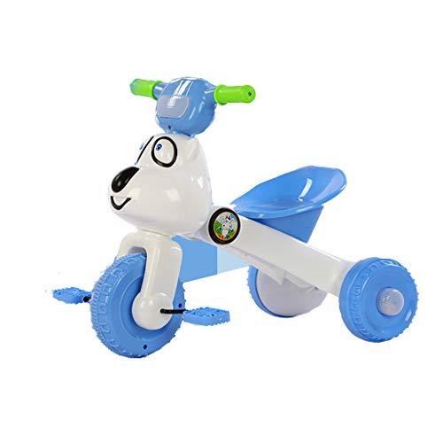 Kinderen driewieler fiets 1-3 jaar oude baby vouwlicht kind auto kinderwagen enkel fiets #3