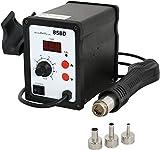 Shopivate Enterprises 858D Quick Anti Electrostatic Hot Air Rework Station SMD Hot Air Gun