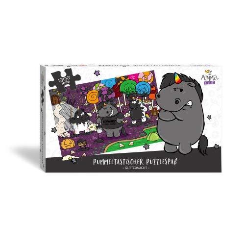 Pummel & Friends - Puzzle (1.000 Teile + Poster) - Grummeleinhorn