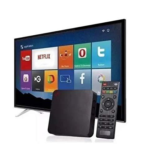 Smart Tv Box Android 10.1,4K, 5G,4 Gb RAM, 32Gb de memória interna + Mini Teclado Wireless Touch Pad