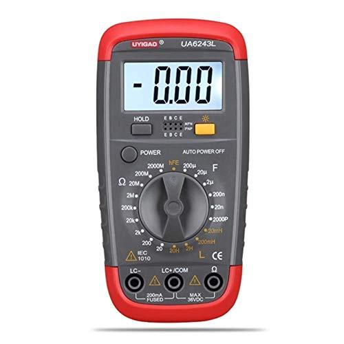 Auoeer Digital multímetro Digital de la capacitancia, Resistencia, inductancia Prueba Tester LCR