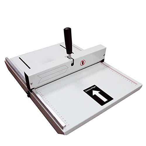 Máquina dobladora A3 480 mm manual plegada máquina álbum cubierta cubierta de la tarjeta de felicitación de metal pesado plegable máquina que prensa