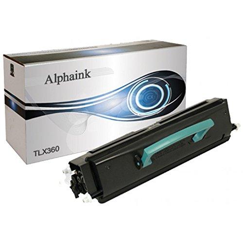 Toner Alphaink compatibile con Lexmark E360H21A Toner Compatibile per stampanti Lexmark E360d E360dn E360d E460dn E460dtn E460dw, 9000 copie al 5%