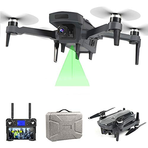 LLSL Best Drone,4K HD GPS Follow Me Drone/WiFi FPV Quadcopter Brushless Motor/ESC Camera Smart Return Drone/Camera Fly 1800 Meters for Kids and Beginners