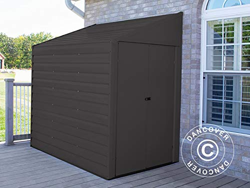Lean-to shed Arrow 1.24x2.03x2.08 m, Anthracite