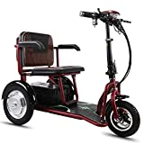 Scooter Mobility Folding Electric Mobility Scooter 3 Wheel Lightweight Portable Power Travel Scooters - Support 150kg Weight