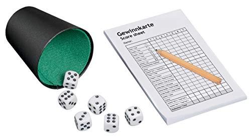 Philos 3317 Yatzi, Würfelspiel, 2 - 5 Spieler