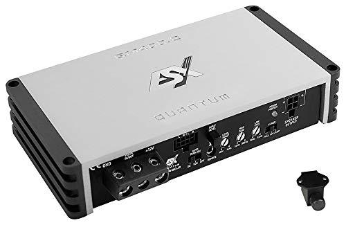 ESX QM400.2   2-Kanal Class D Mini Digital Verstärker Endstufe 450 Watt RMS Ausgangsleistung