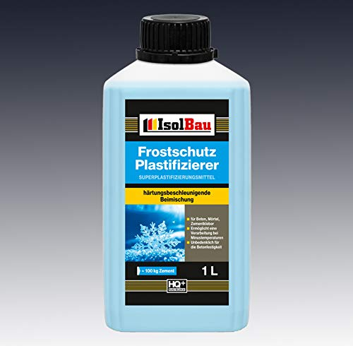 1 Liter Beton-Zusatzmittel Frostschutz Plastifizierer Fliessmittel Betonverflüssiger