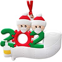 2-Person Shaboo Prints Personalized Christmas Hanging Ornament Kit
