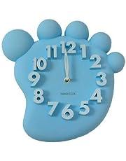 Soytich Diseño Reloj de Pared, Reloj de Oficina, Reloj de Cocina Reloj de Pared (MX1148) - Azul