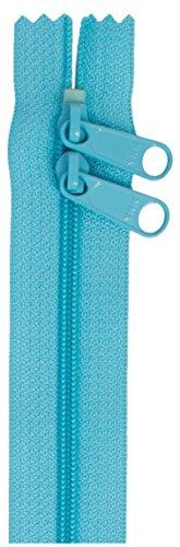 """ByAnnie Double Slide Zipper, 30"""", Parrot Blue"""