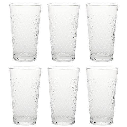 Rastal 122256 Apfelweinbecher, Apfelweinglas, 500ml H 15,5cm, klar (6 Stück)
