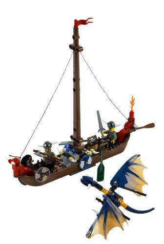 LEGO Wikinger 7016 - Wikinger-Boot und Drache
