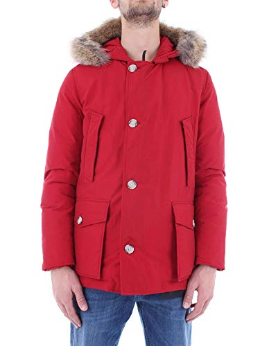 Woolrich Giacca Outerwear Uomo Wocps2739cn03red Cotone Rosso