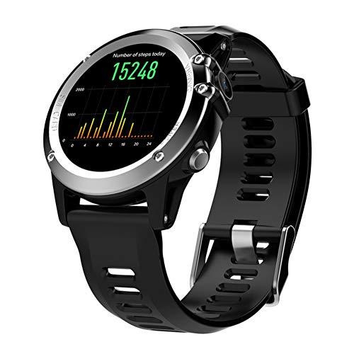DHJWAI Llame A Bluetooth Smart Watch Ip68 Reloj Deportivo A Prueba De Agua con Alarma, AnáLisis De Movimiento, Monitoreo De Movimiento, Toma De CáMara, Seguimiento De Ruta por GPS