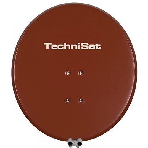 TechniSat SATMAN 650 PLUS – 65 cm Satellitenschüssel mit Masthalterung für UNYSAT Universal-LNB – Geeignet für die Wand- und Dachmontage